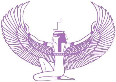 maat wing white purple
